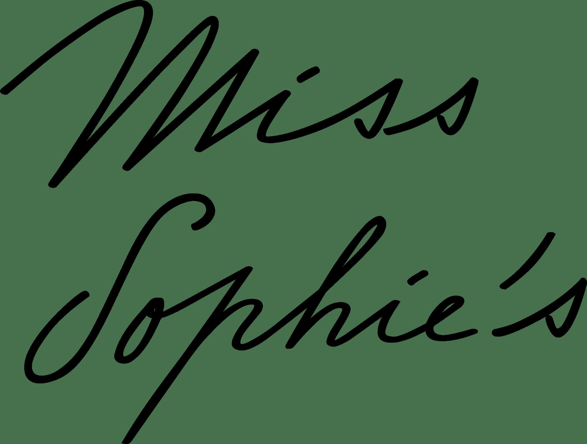 miss sophies logo