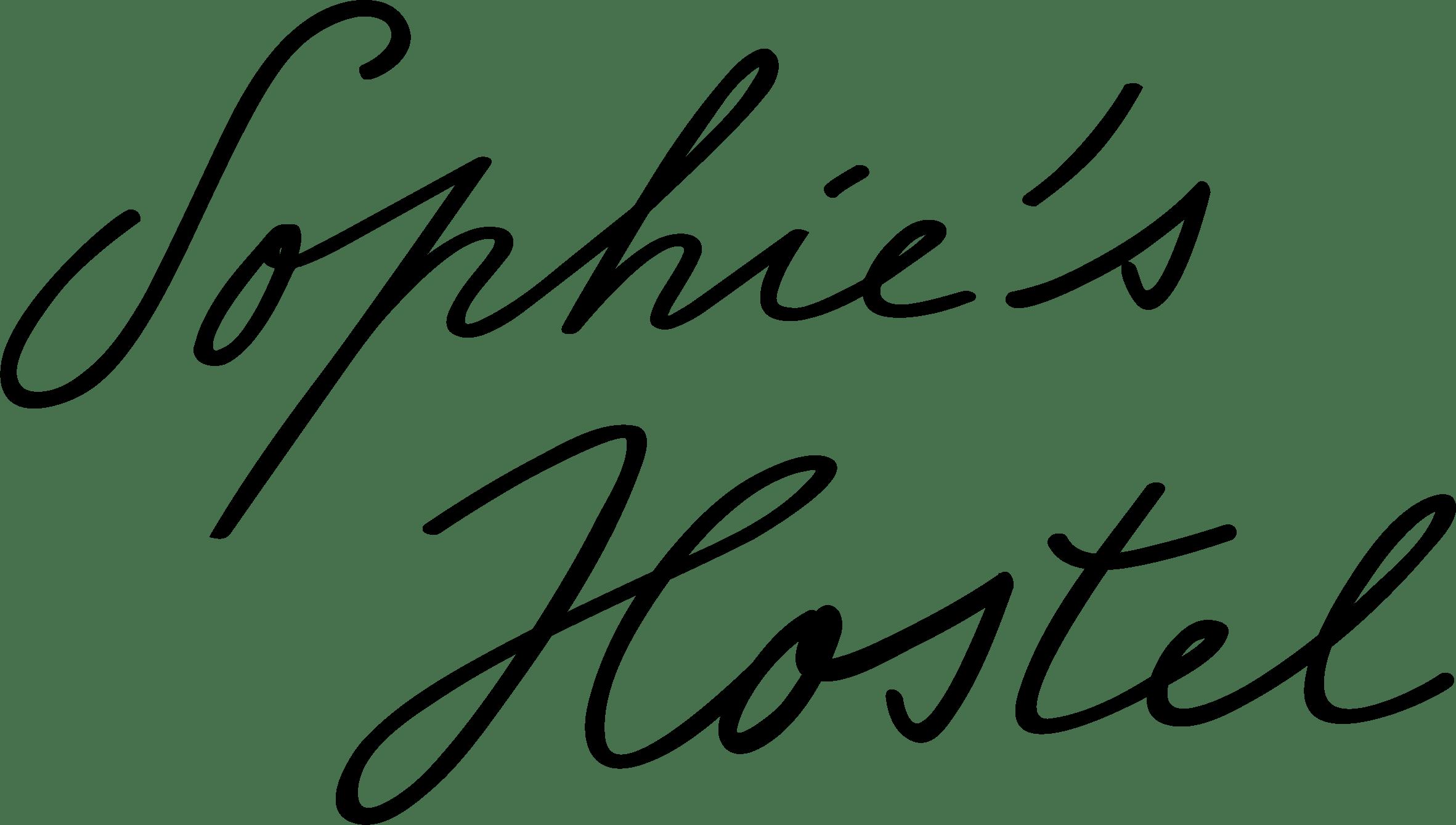 sophie's hostel logo
